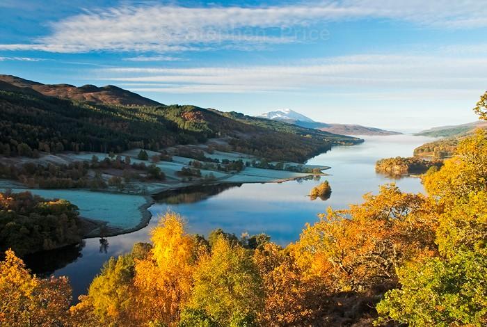Queen's View Scotland | Autumnal Scottish Landscape