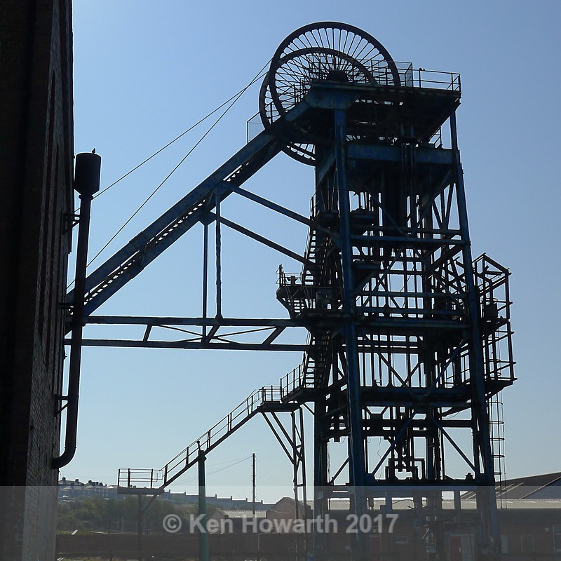 Haig Pit Winding Gear, Whitehaven - Lakeland Landscapes