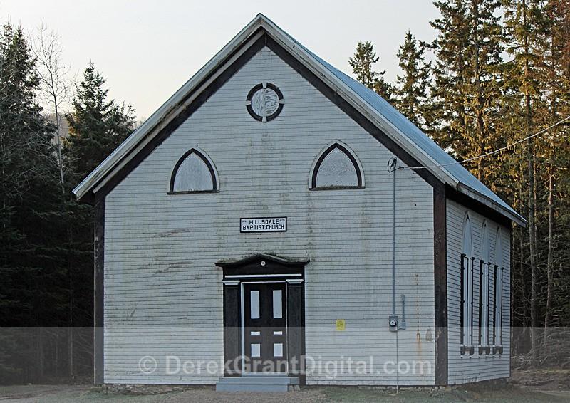 Hillsdale Baptist Church,  New Brunswick, Canada - Churches of New Brunswick