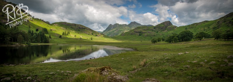 View From Blea Tarn - Panoramic Images