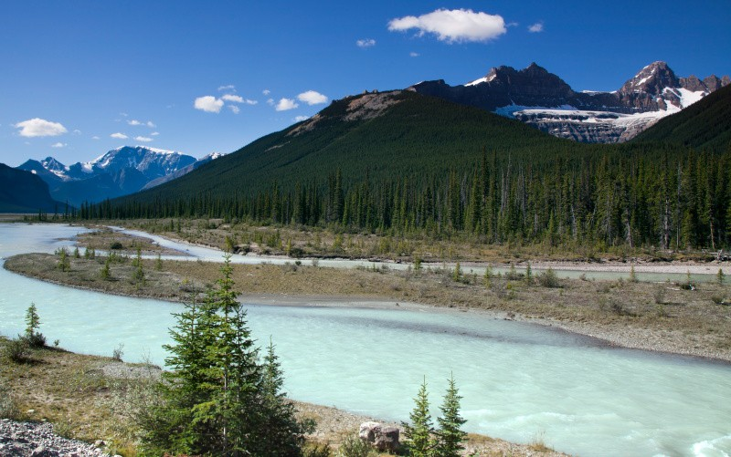 Mountain Glacier - BC and the Rockies,Canada