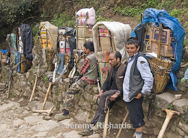 Porters at Work - Nepal