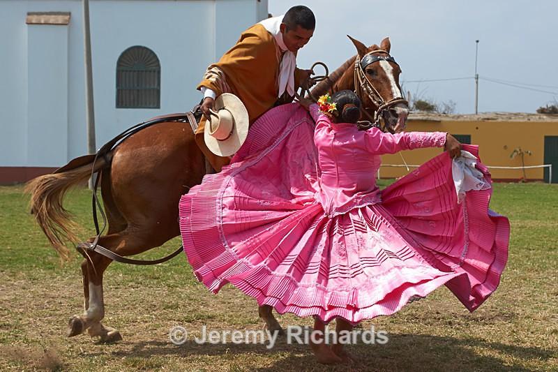 Dancing with Horses - Peru