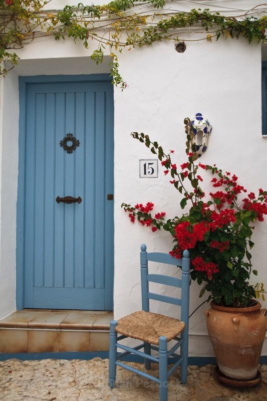 Spanish Doorway - European Landscapes