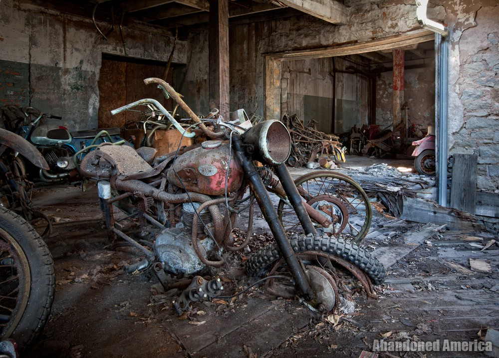 Kohl's Motorcycle Salvage, Lockport NY - Matthew Christopher Murray's Abandoned America
