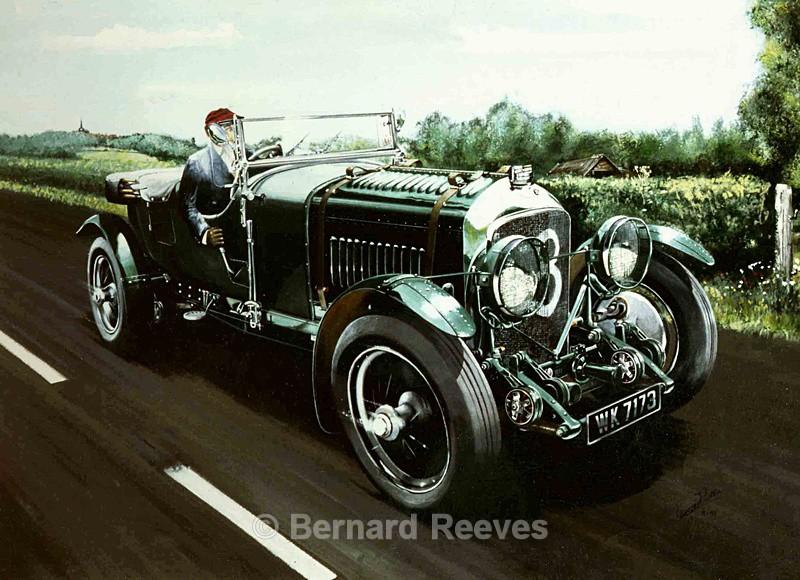 4.5 litre Bentley - Classic cars