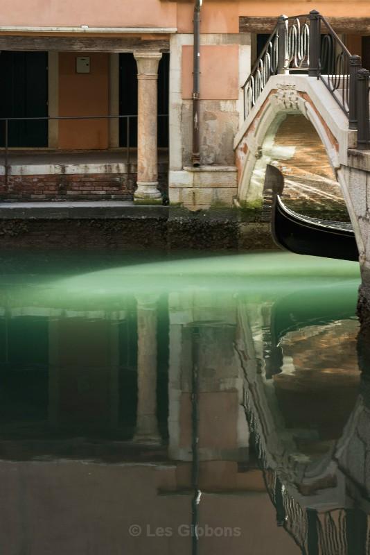 appearing Gondola - Venice