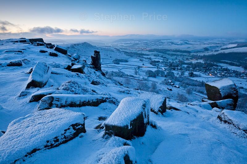 Peak District Curbar Edge Sunrise | Peak District Photography