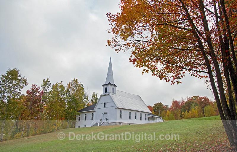 Grafton United Baptist Church - Grafton New Brunswick Canada - Churches of New Brunswick