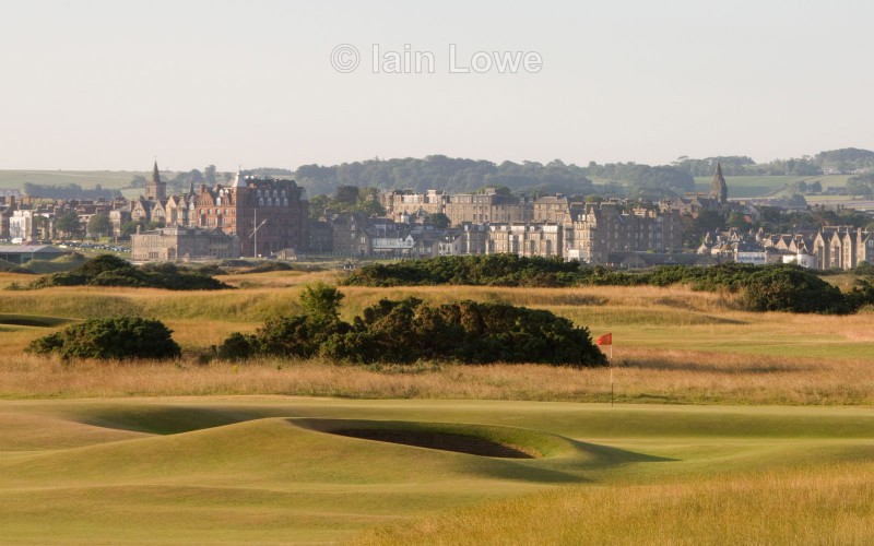 Old Course 12th approach - St Andrews Old Course Hole-by-Hole