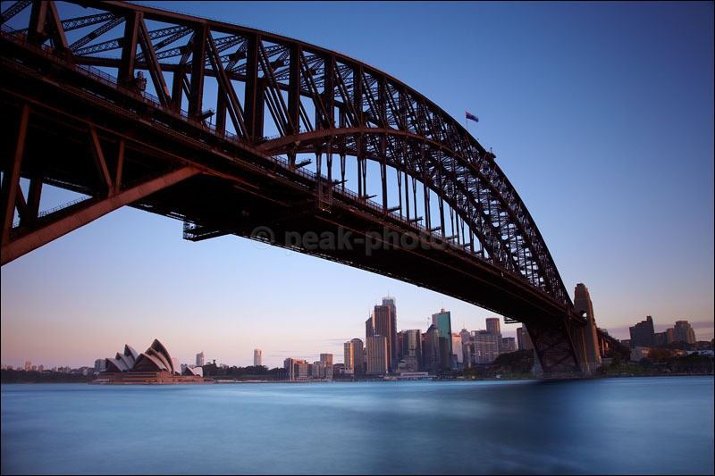 Sydney Bridge - Photographs of New Zealand