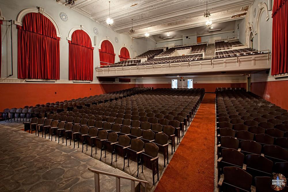 Central Junior High School (Chambersburg, PA) | Auditorium Rear - Central Junior High School
