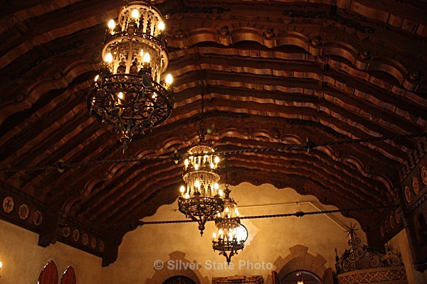 Scotty's Castle Music Room Ceiling - Buildings