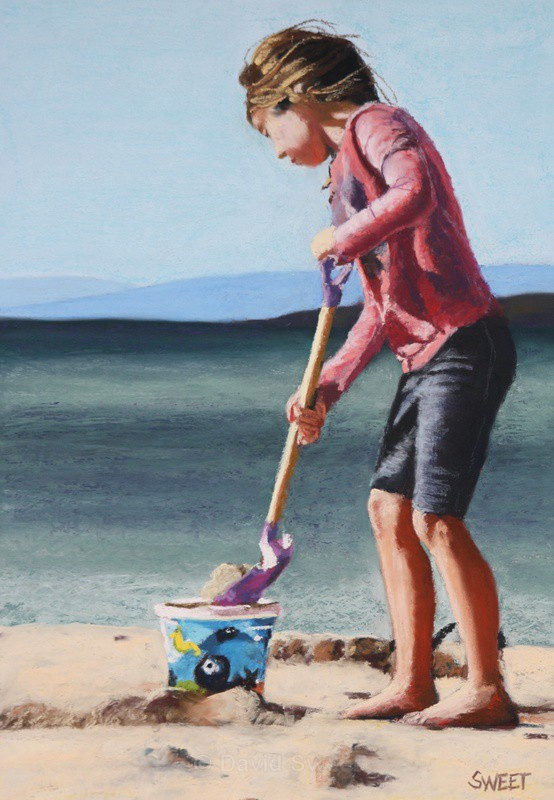 Bucket and Spade - Paintings