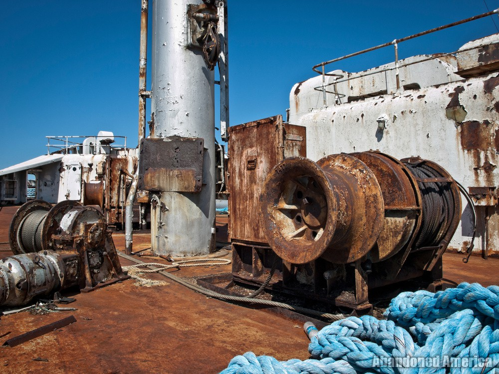 the endless immensity of the sea   SS United States (Philadelphia, PA) - SS United States