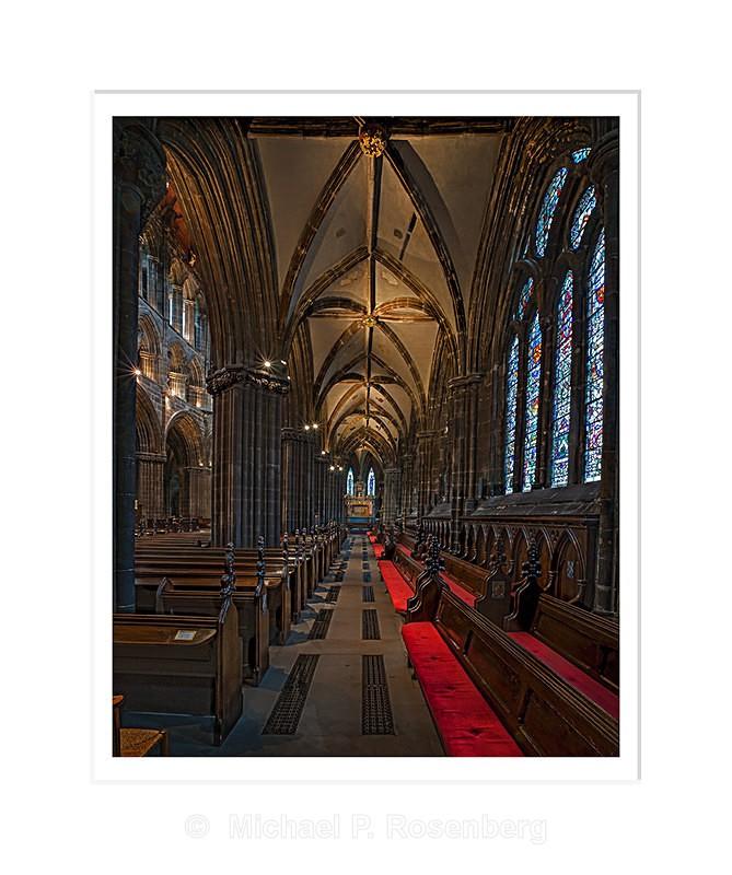 Glasgow Cathedral, Glasgow Scotland - Scotland, UK
