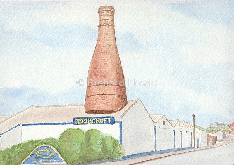 Moorcroft Pottery - Watercolour Paintings