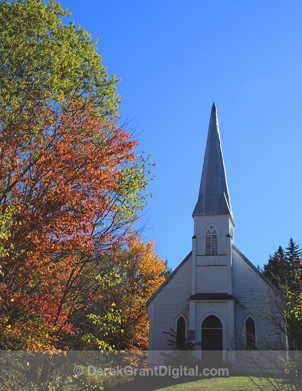 St. Paul's United Church Waterford Kings County New Brunswick Canada - Churches of New Brunswick