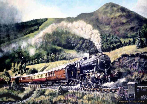 On the West Highland Line - Commissioned Work