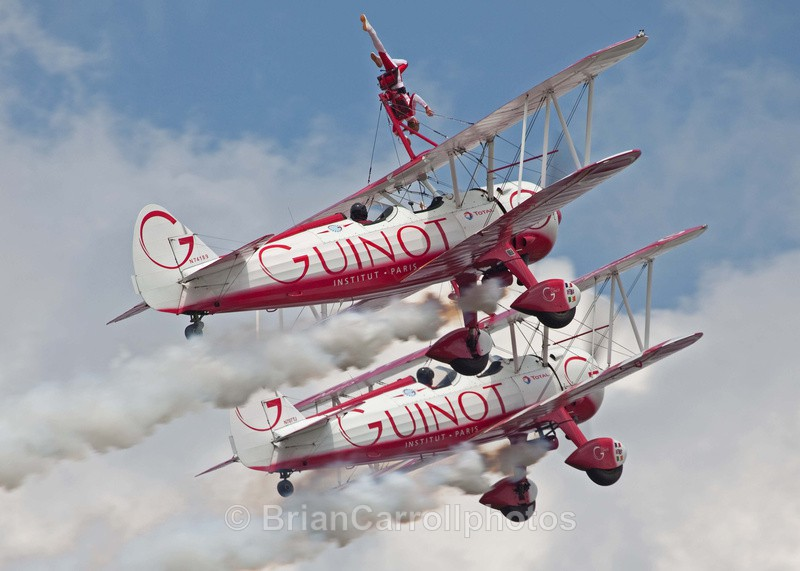 Team Guinot Wingwalkers Boeing Stearman Biplanes