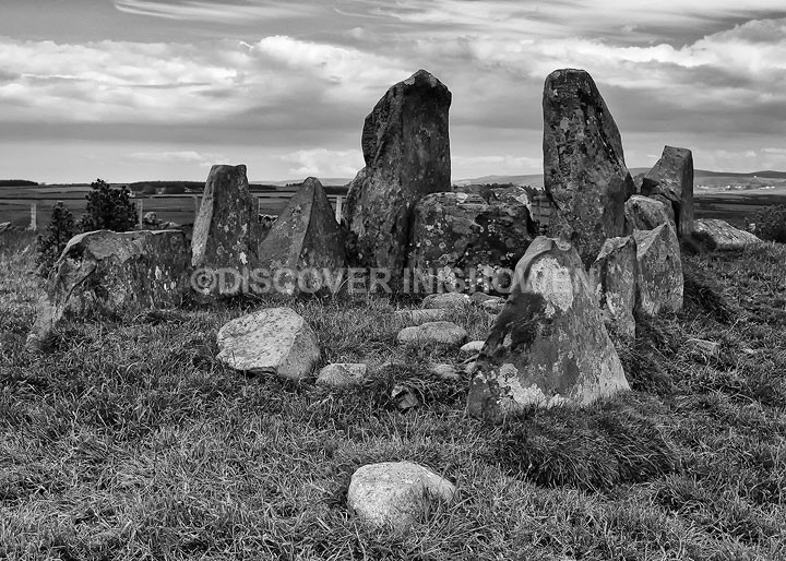 Temple of Deen - Inishowen peninsula- B&W