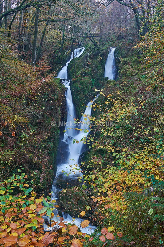 Autumn at Stock Ghyll Waterfall | Ambleside | Lake District