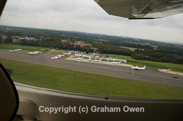 Pictures of a flight to Le Touquet