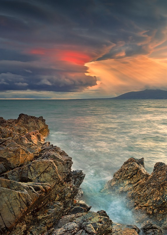 Dramatic Clouds Over The Mourne Mountains