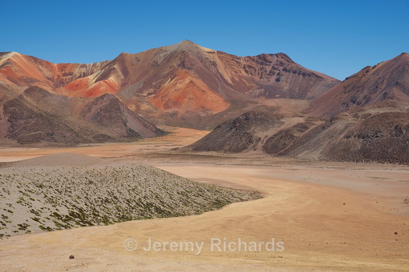 Colourful Mountains of the Altiplano - Altiplano of North-East Chile
