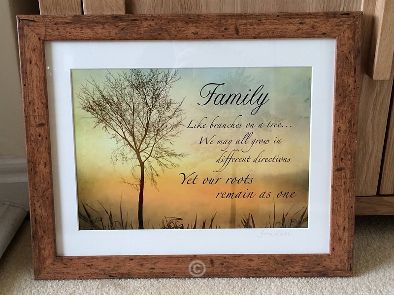 FAMILY - PERSONALISE YOUR TEXT AND IMAGES