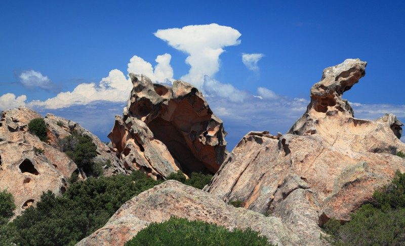 Capa D Orso Clouds - Sardinia and the Amalfi Coast