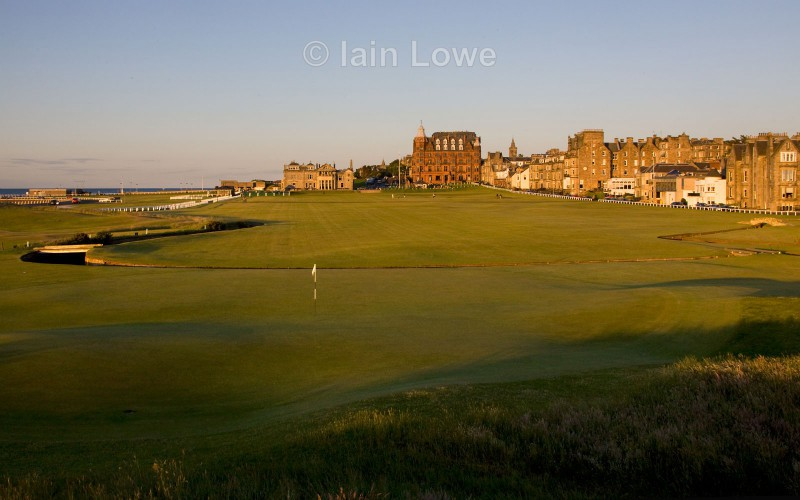 Old Course 1st green to tee - St Andrews Old Course Hole-by-Hole
