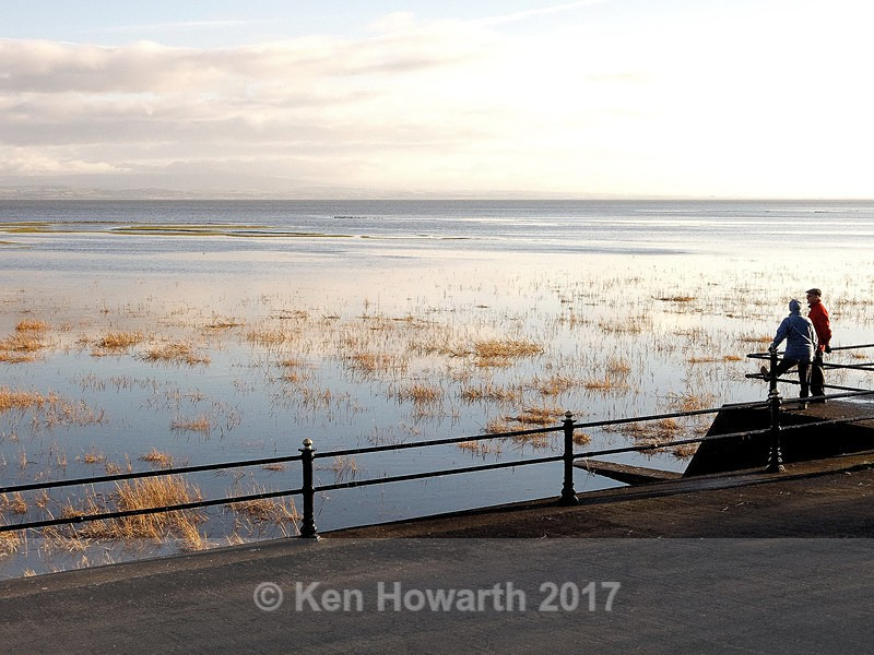 High tide at Grange-over-Sands - Lakeland Landscapes