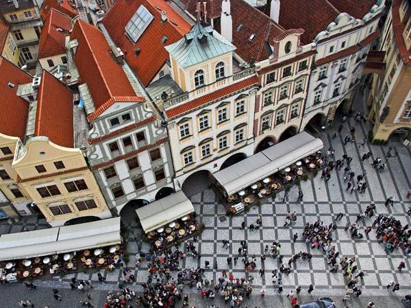 vertigo view - Prague