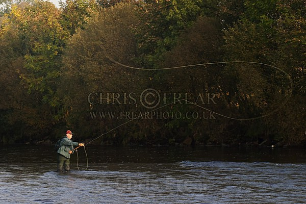 Casting-on-the-Nith-copy - Flyfishing Photography
