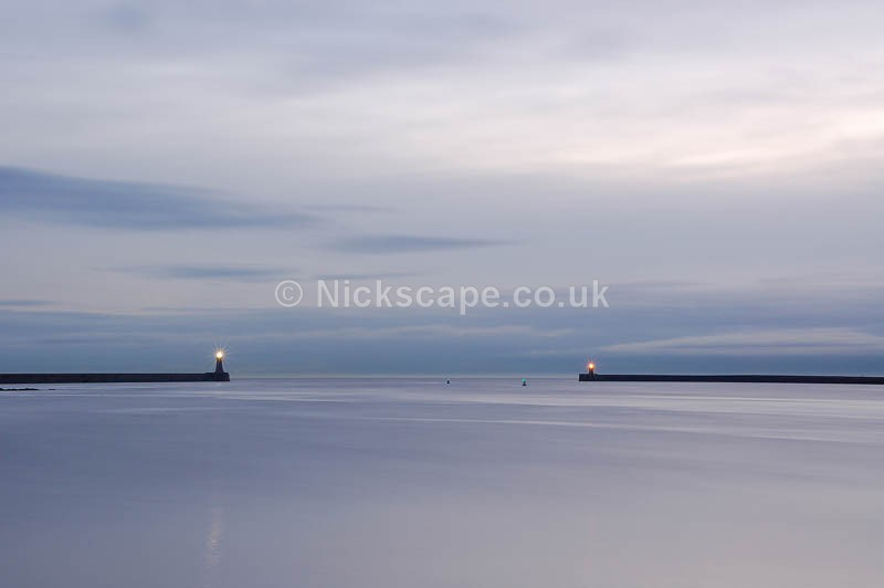 North and South Piers - River Tyne - Northumberland
