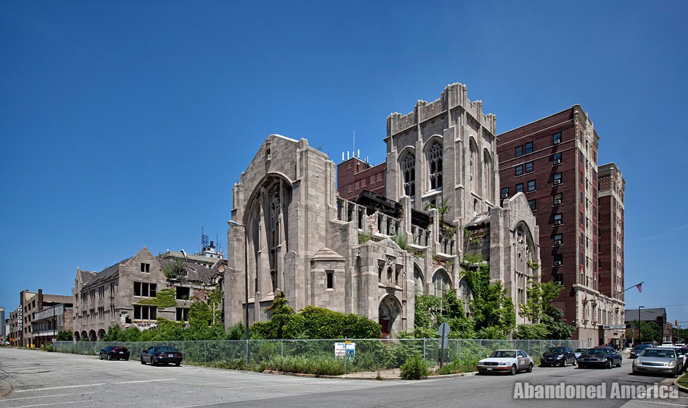 Gary, Indiana | City Methodist Church Exterior A - Gary, Indiana