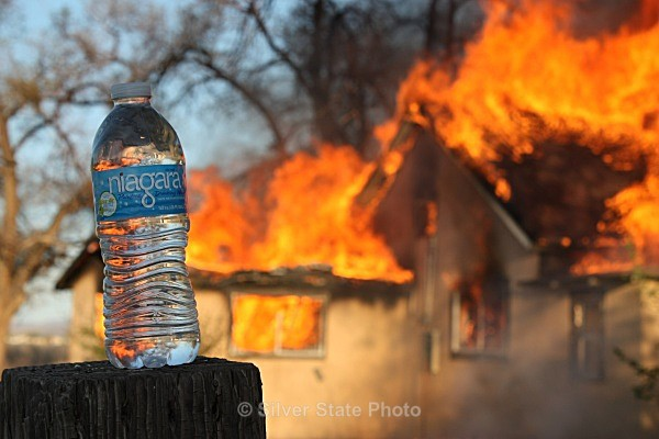 Too much fire-not enough water! - Fallon/Churchill Fire Department