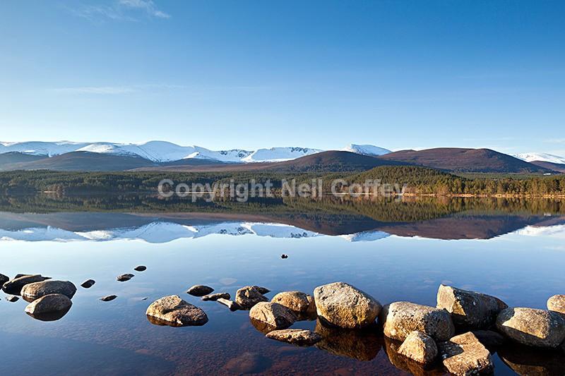Loch Morlich & The Cairngorm Plateau, The Cairngorms4 - Landscape format