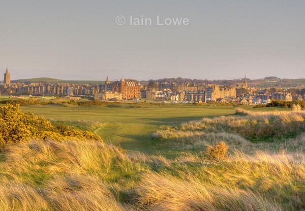 Old Course 14th te to green HDR - H D R Images various courses