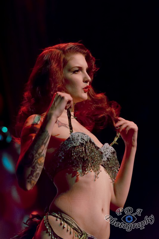44 Millie Dollar in Burlesque Show Born to be Wild
