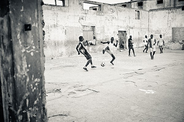 Football, Accra, Ghana