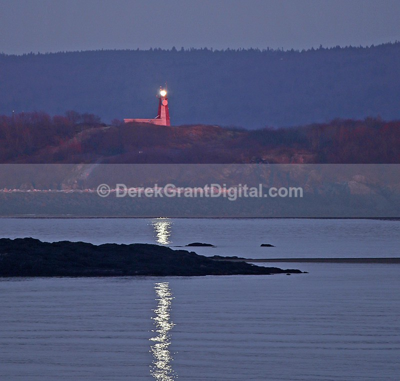 Partridge Island Lighthouse Saint John New Brunswick Canada - Lighthouses of New Brunswick