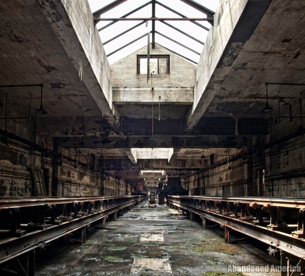 the trail of the past - Portside Power Plant*