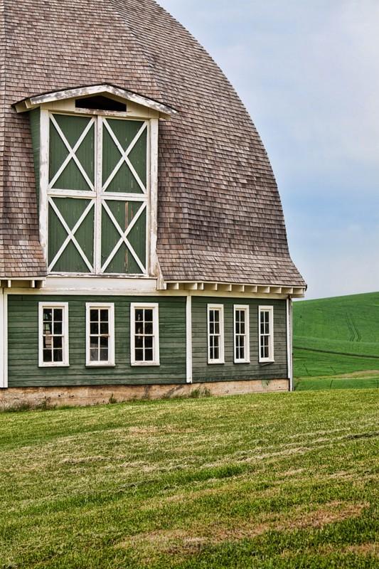 green barn - Palouse