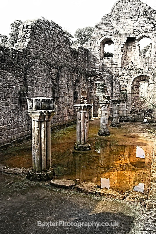 Ruins And Reflections (I) - Fountains Abbey