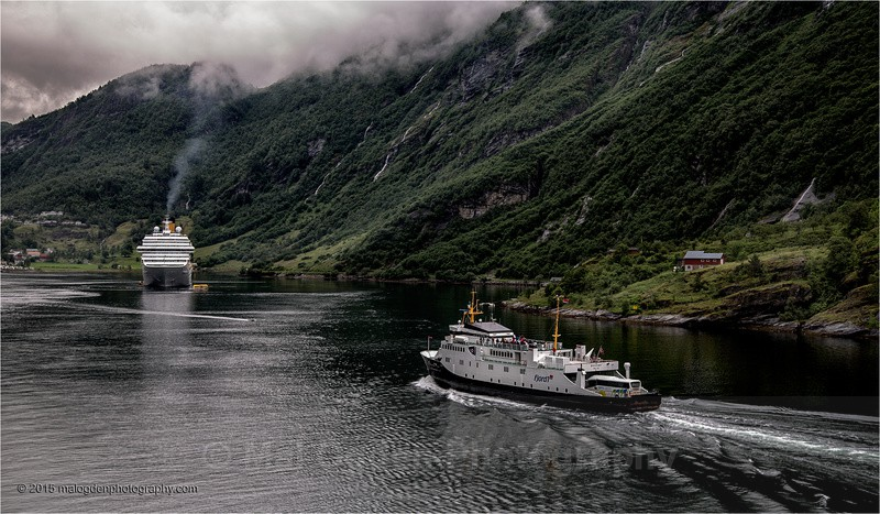 Ferries on the Fjords - Norway