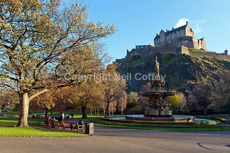 Princes Gardens, Edinburgh - Cities & Towns