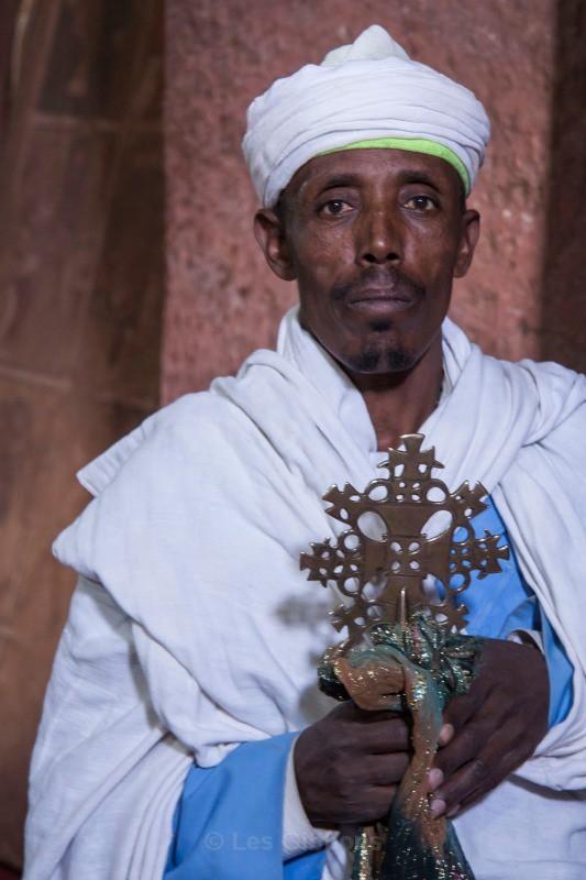 Lalibela - priest - Ethiopia