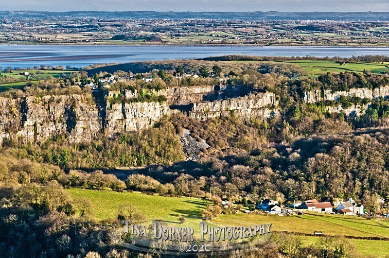 Wintours Leap Cliffs View. by Tina Dorner Photography, Forest of Dean and Wye Valley, Gloucestershire